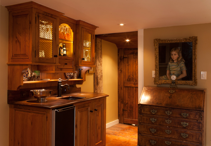 wood-bar-recessed-lighting