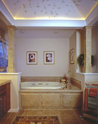 bathtub-soffit-lighting