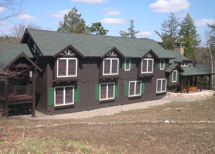 Beckwith group for Dark green siding